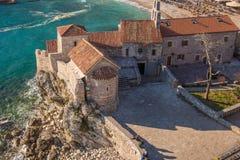 Budva stary Miasteczko, Montenegro zdjęcie stock