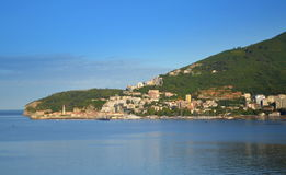 Budva town view Stock Image