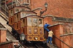 Budvari Siklo en Budapest Imagen de archivo libre de regalías