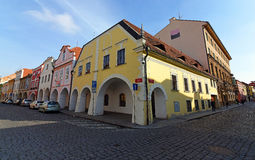 Budweis old house Royalty Free Stock Image