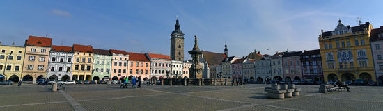 Budweis square Royalty Free Stock Image