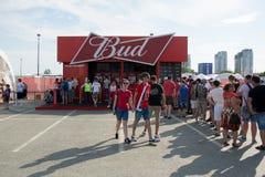 Budweiser è uno di più gran fotografie stock libere da diritti
