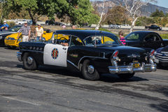 Budweiser Car Show 2014 broderick crawford highway patrol car   Stock Photo
