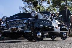 Budweiser Car Show 2014 broderick crawford highway patrol car   Royalty Free Stock Photos