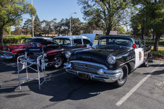 Budweiser Car Show 2014 broderick crawford highway patrol car  Stock Image