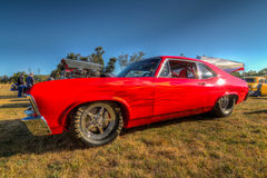 Budweiser Car Show 2014 HDR Stock Image