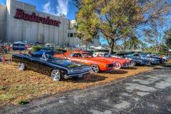 Budweiser Car Show 2014 HDR Stock Photo