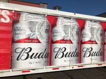 Budweiser Delivery Truck stock photo