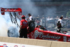 Budweiser Dragster Stock Photos