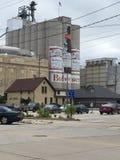 Budweiser-fabriek Stock Afbeeldingen