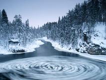 budy rzeka Obrazy Royalty Free