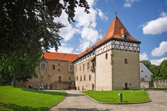 Budyne. Castle budyne nad ohri, czech republic Royalty Free Stock Images