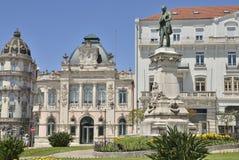 Budynek Agencyjny bank Portugalia Obraz Royalty Free