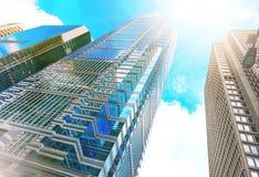 Budynek architektura Zdjęcia Stock