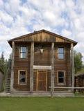 budynek banku na dzikim zachodzie Fotografia Royalty Free