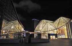 budynek beautful noc Zdjęcia Royalty Free