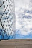 Budynek biurowy i niebo obrazy stock
