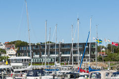Budynek biurowy Langedrag Szwecja Obraz Royalty Free