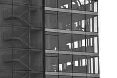 Budynek biurowy – sylwetka Zdjęcie Stock