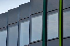 budynek biurowy - szczegół Zdjęcia Royalty Free