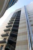 Budynek biurowy - wyjścia ewakuacyjne i wentylacja Zdjęcia Royalty Free