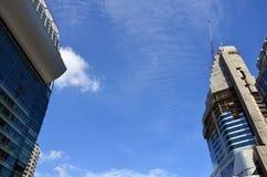 Budynek Biznesowa budowa przy Bangkok Tajlandia Obraz Royalty Free