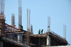 Budynek budowa przy Tajlandia Obraz Stock