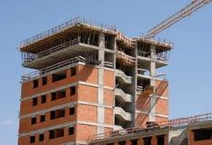 budynek budowy nowego urzędu Zdjęcia Stock