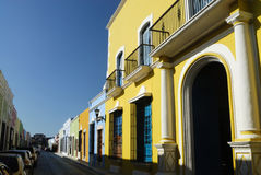 budynek Campeche Zdjęcia Royalty Free