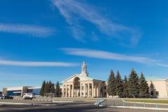 Budynek Chelyabinsk lotnisko Zdjęcie Stock