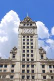 budynek Chicago Wrigley obrazy royalty free