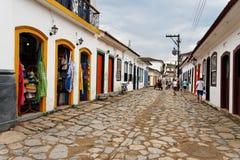budynek de janeiro historyczne Rio paraty Obraz Stock
