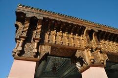 budynek dekoracja Marrakech Zdjęcia Stock