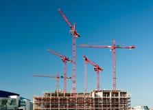 budynek domu budowy nowego miejsca zdjęcie stock