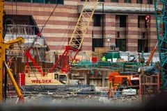budynek domu budowy nowego miejsca Obrazy Stock
