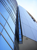 budynek działalności instytucji finansowej przedsiębiorstw nowoczesnej Zdjęcie Royalty Free