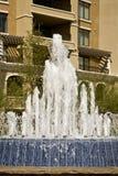 budynek fontanna Zdjęcia Royalty Free