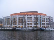 Budynek Holenderska Krajowa opera, holandie obraz royalty free