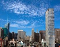 budynek imperium Manhattan stanu widok Obraz Royalty Free