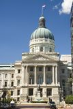 budynek kapitolu Indiana Zdjęcia Royalty Free
