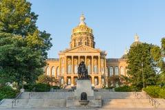 budynek kapitolu Iowa state obraz royalty free