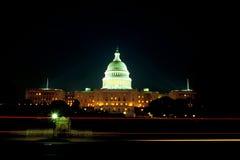 budynek kapitolu noc u s Obraz Royalty Free