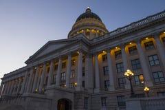 budynek kapitolu stanu Utah Obraz Royalty Free
