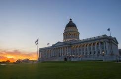 budynek kapitolu stanu Utah Obraz Stock