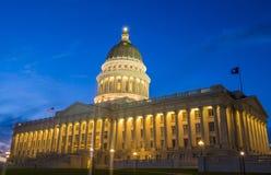 budynek kapitolu stanu Utah Fotografia Stock