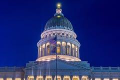budynek kapitolu stanu Utah Zdjęcie Stock