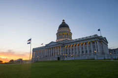 budynek kapitolu stanu Utah Obrazy Royalty Free