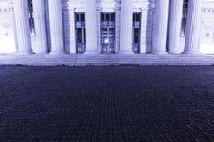 budynek kolumny Zdjęcia Royalty Free