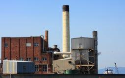 budynek komin przemysłowe Obrazy Stock