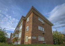 Budynek lokalizować na dwa ulicach w Notting wzgórzu Obrazy Royalty Free